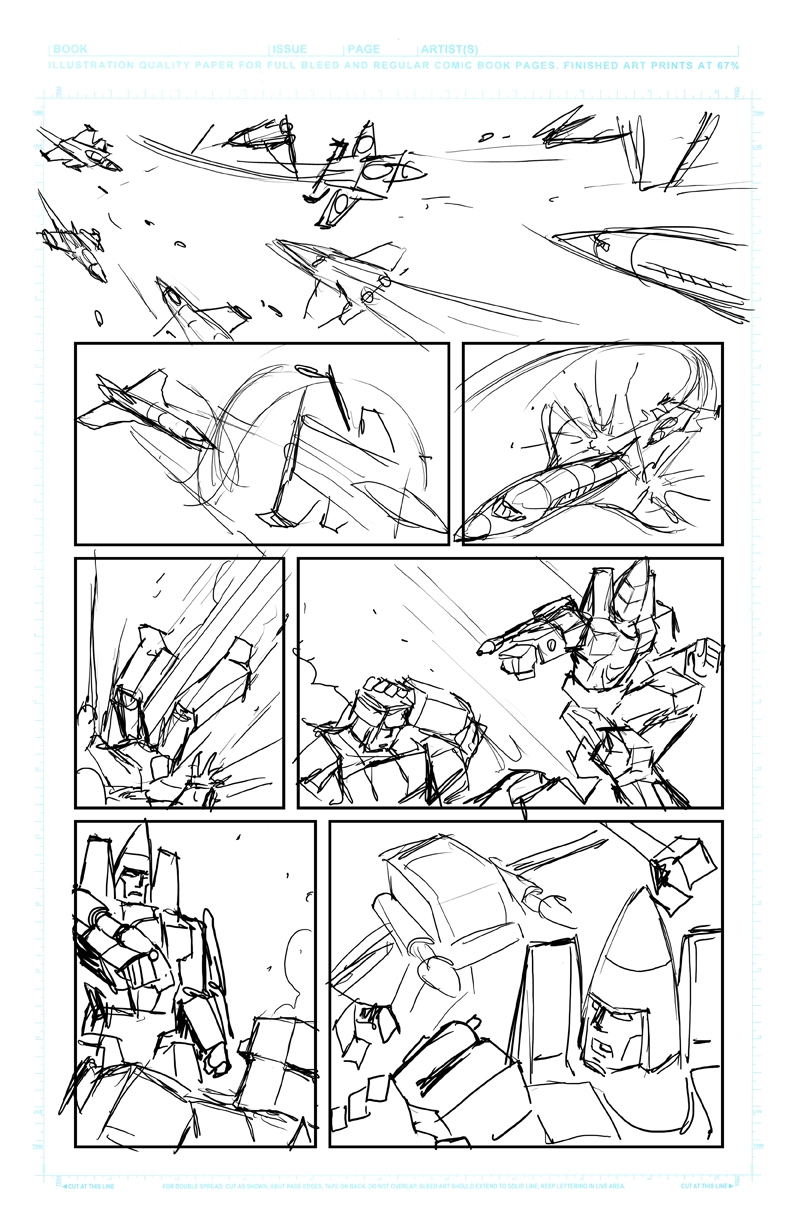 The Art Of Transformers: REANIMATED Issue 1 (Part 2 of 3)