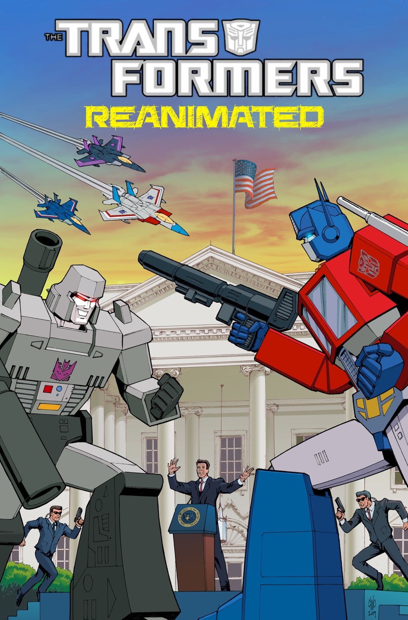 Transformers: REANIMATED Issue 1: A White House For Peace
