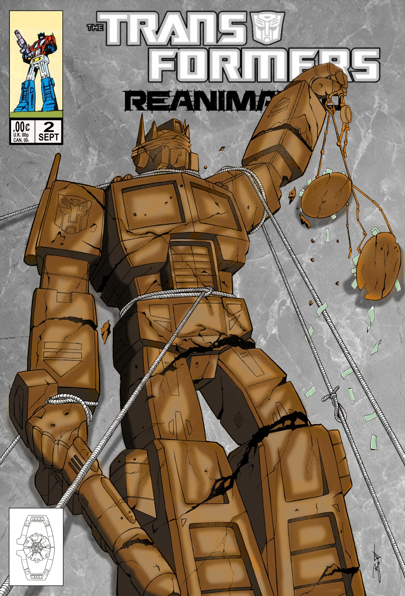 REANIMATED Issue 2: Autobots Under Arrest
