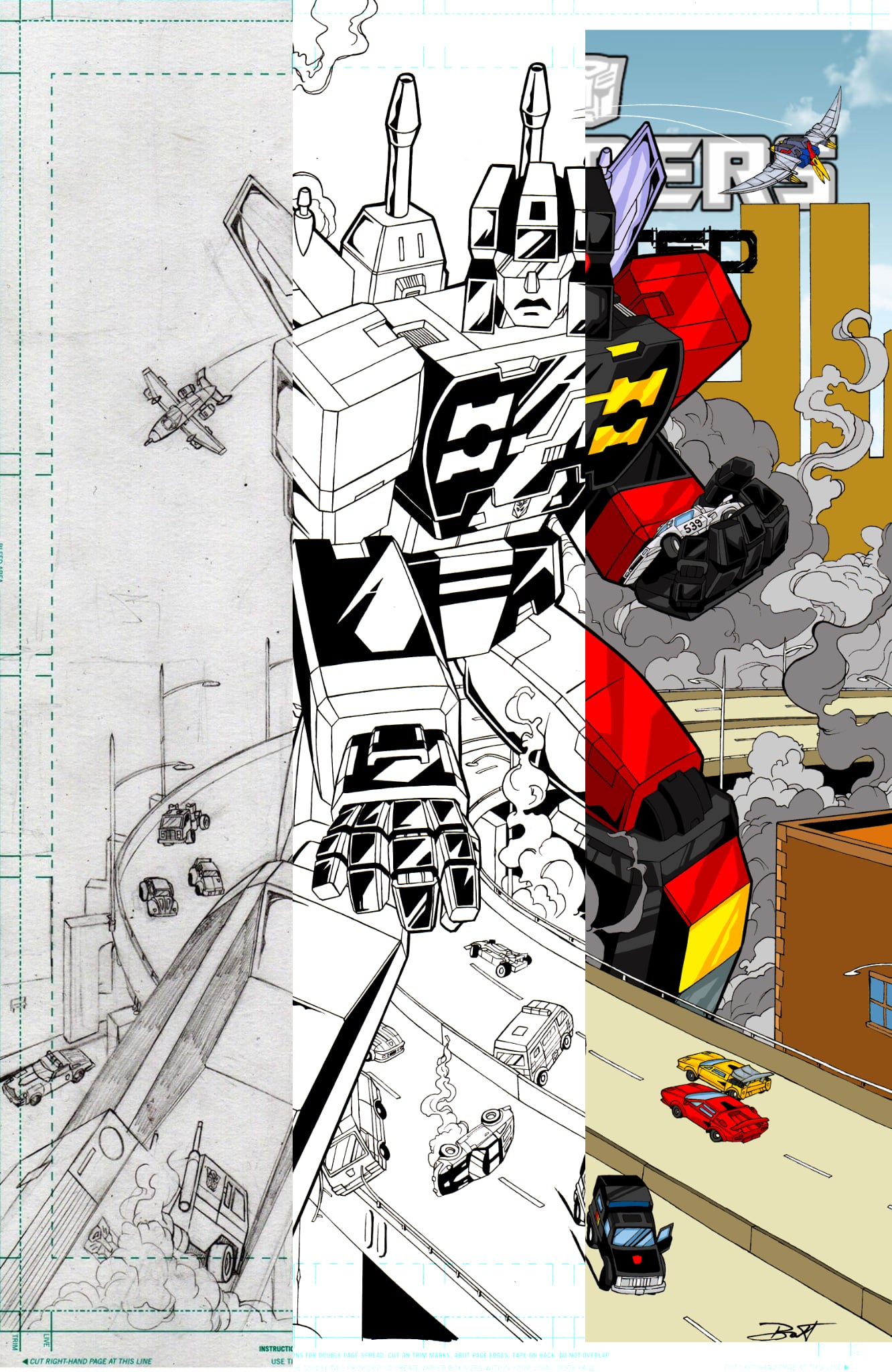 The Art Of Transformers: REANIMATED Issue 3