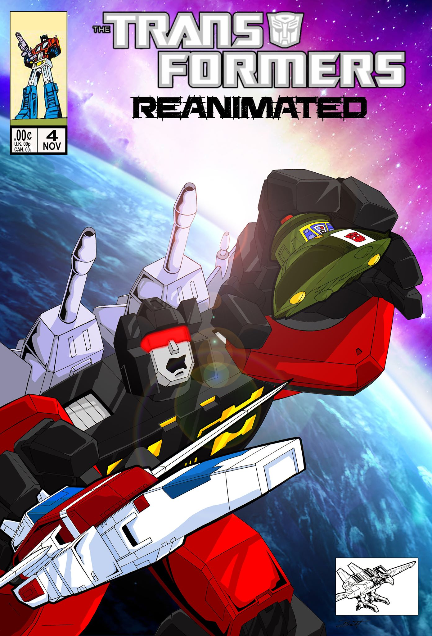 Transformers: REANIMATED Issue 4: Attack of the 4000-foot Frenzy, Part 2