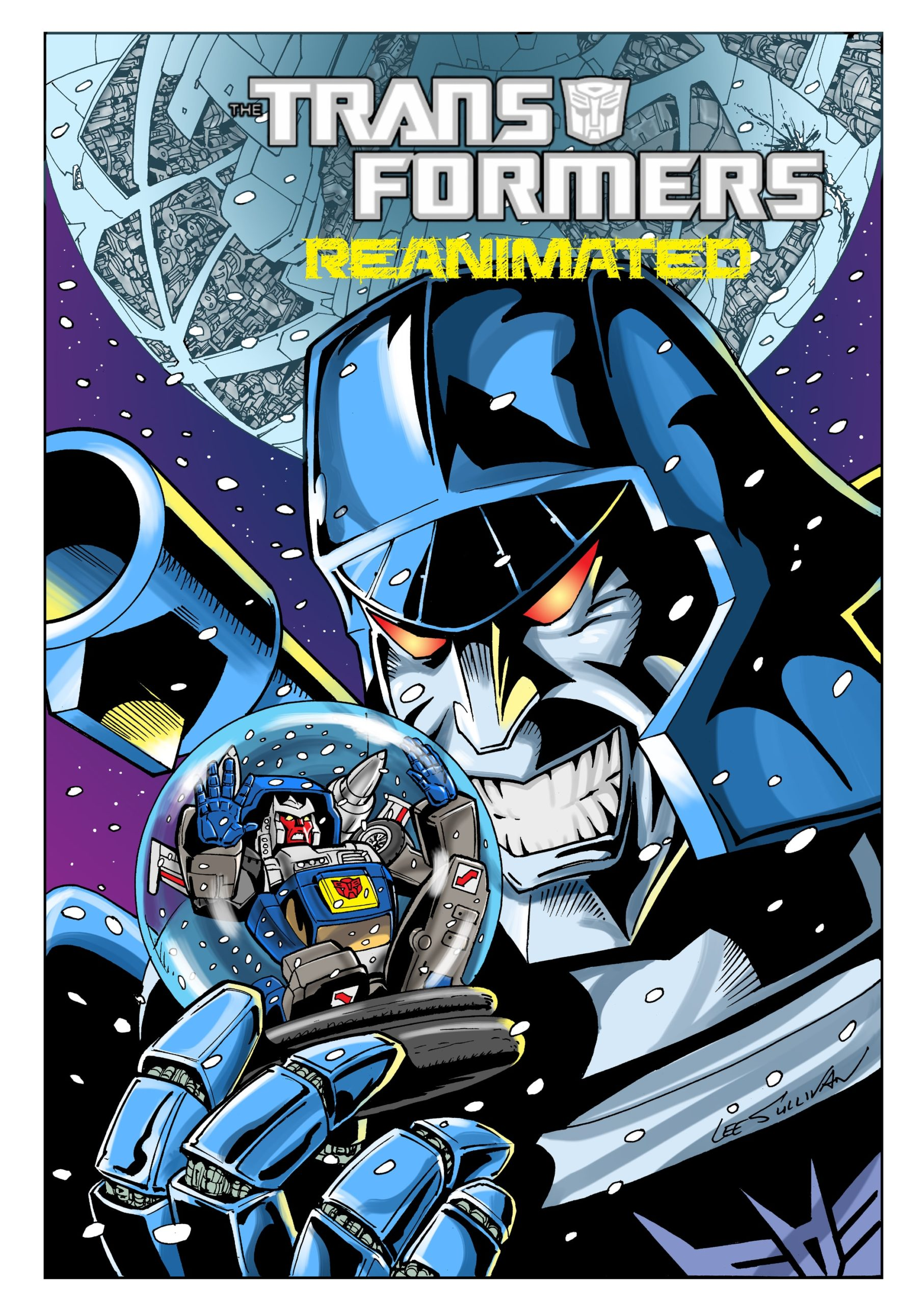 Transformers: REANIMATED Issue 5: A Transformers Christmas Carol