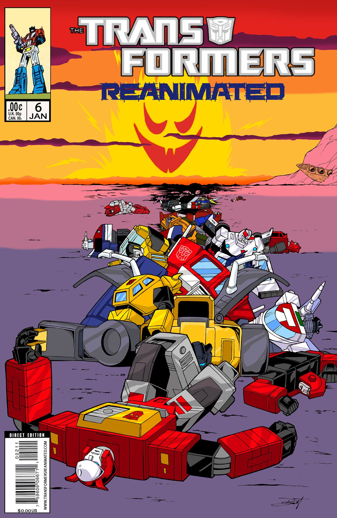 Transformers: REANIMATED Issue 6: Kremzeek Not Included.