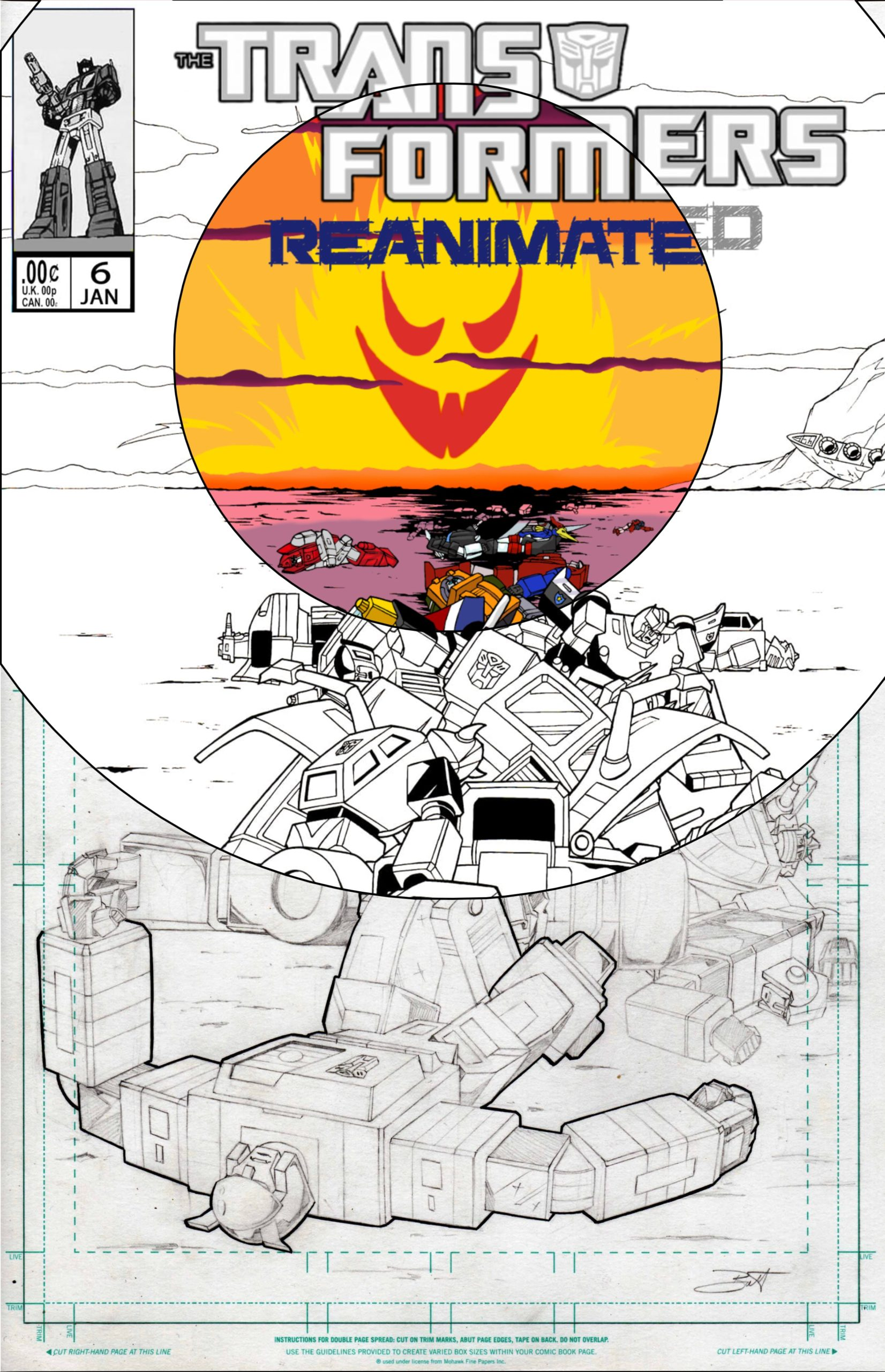The Art Of Transformers: REANIMATED Issue 6