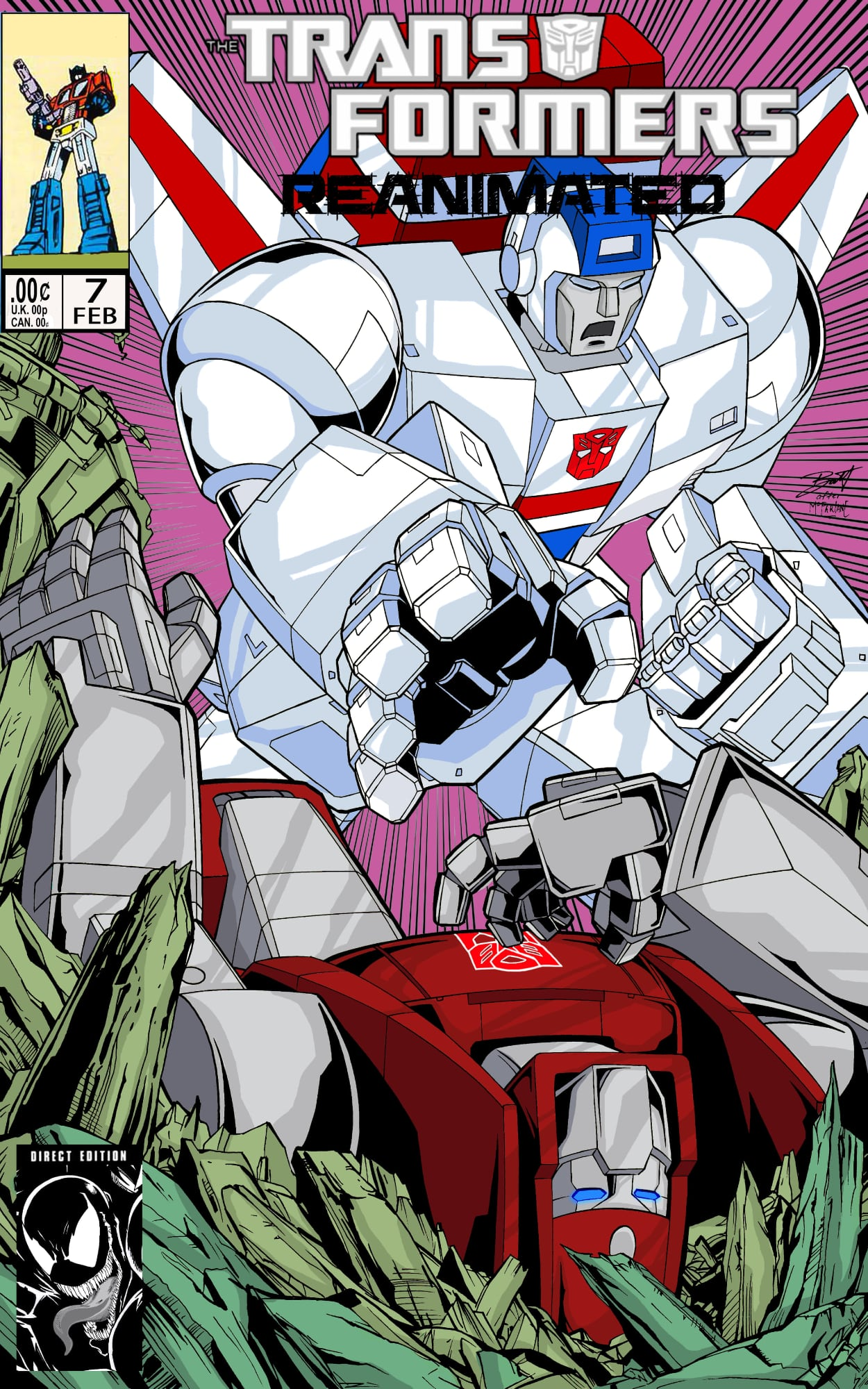 Transformers: REANIMATED Issue 7: Genius of Science.