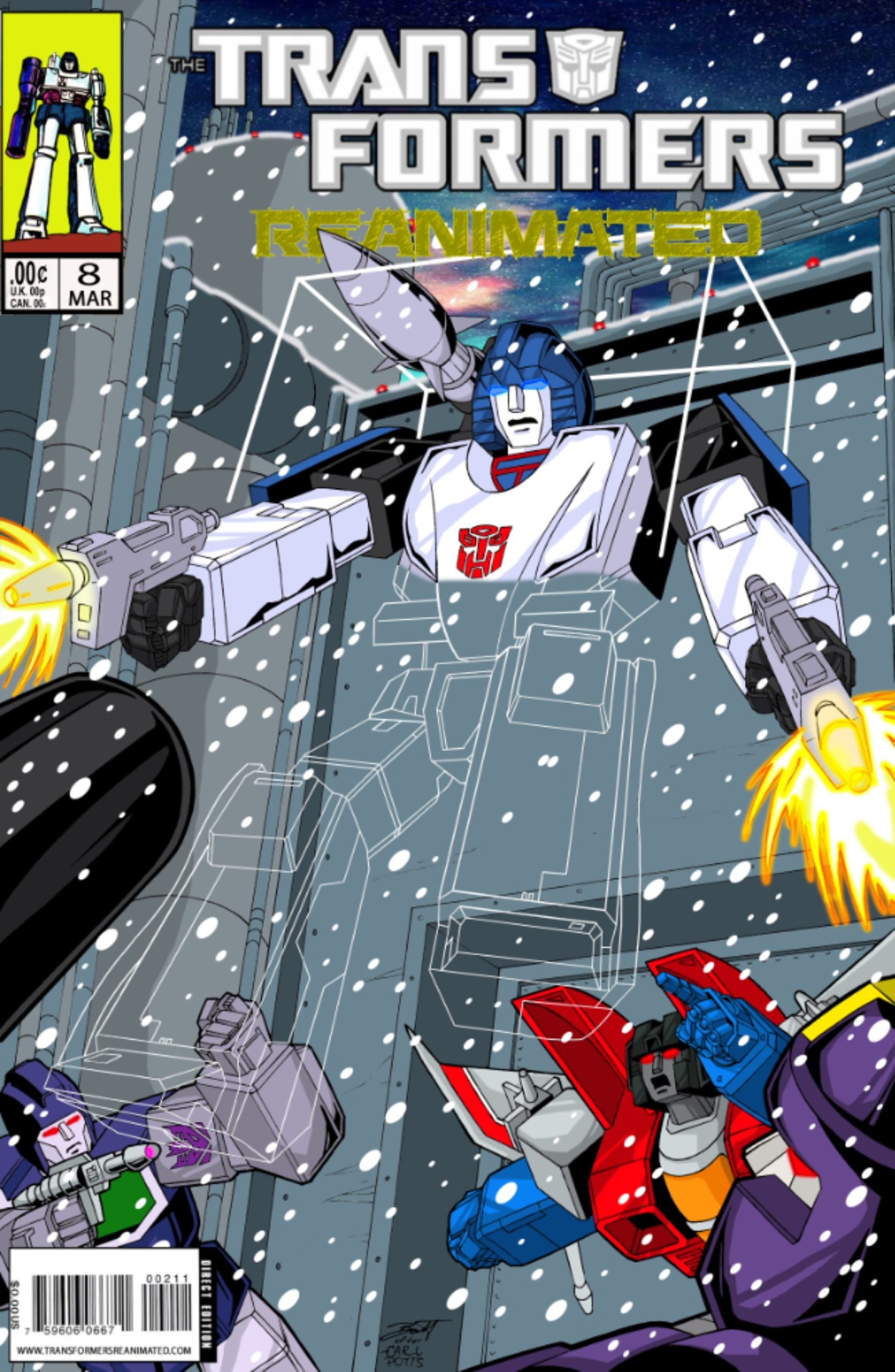 Transformers: REANIMATED Issue 8: Snowblind.