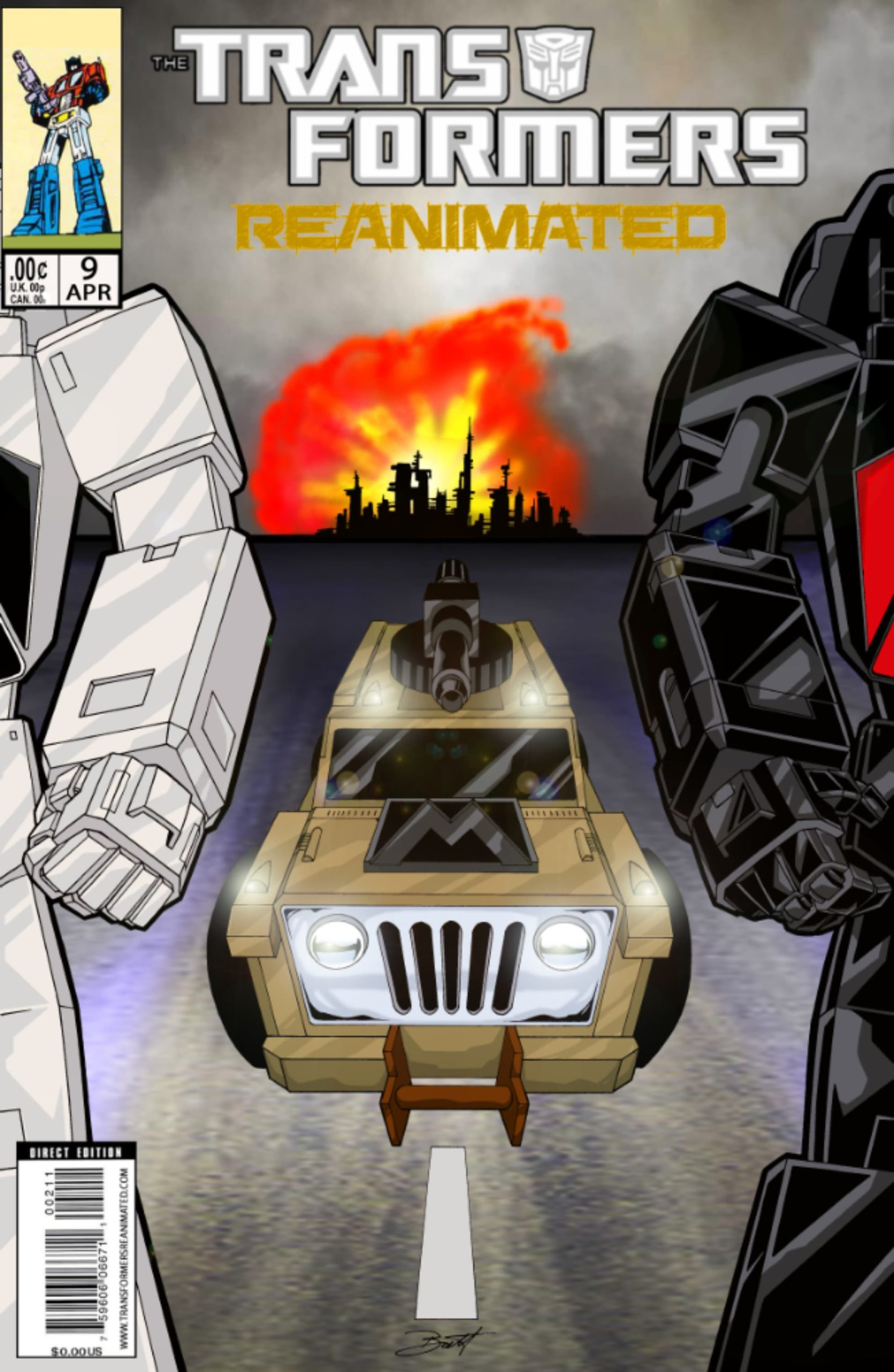 Transformers: REANIMATED Issue 9: Down Under Blunders