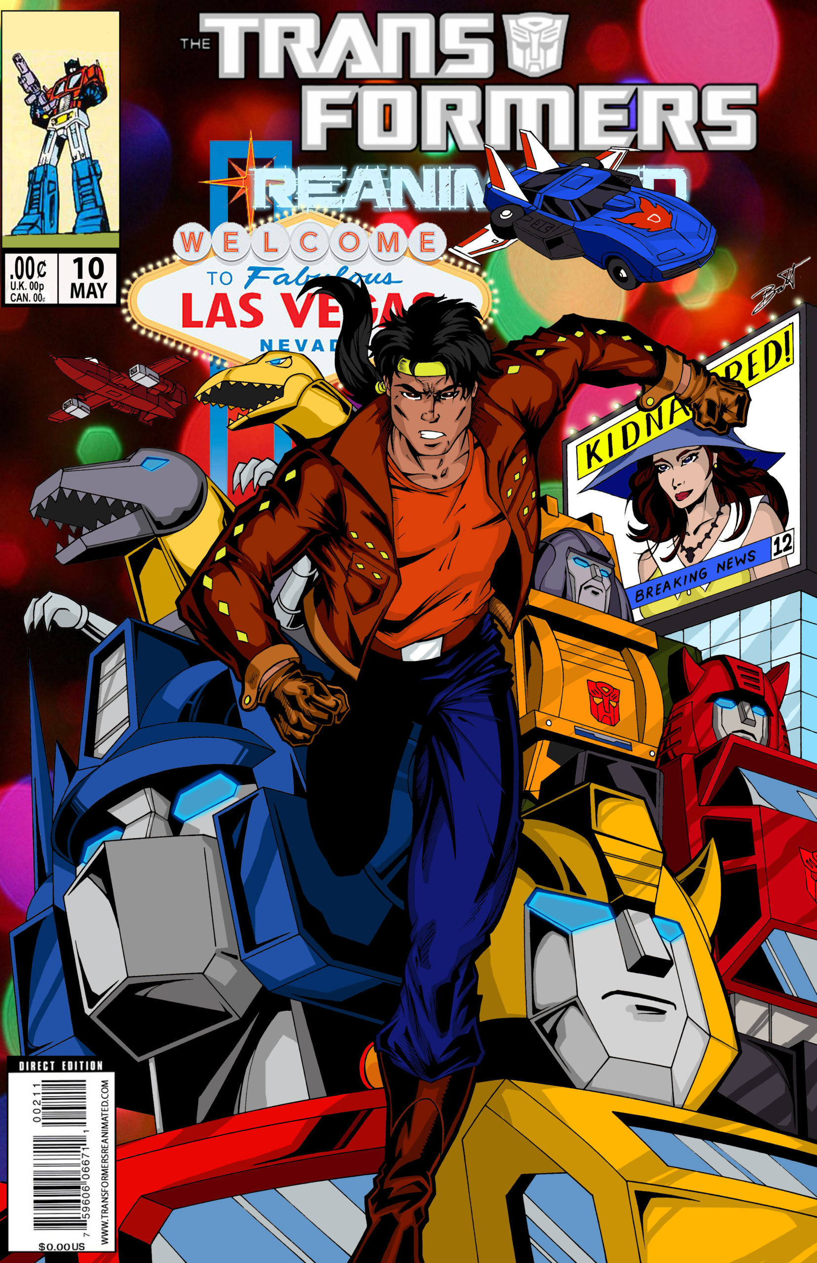 Transformers: REANIMATED Issue 10: For The Love of H.A.T.E., Part 1