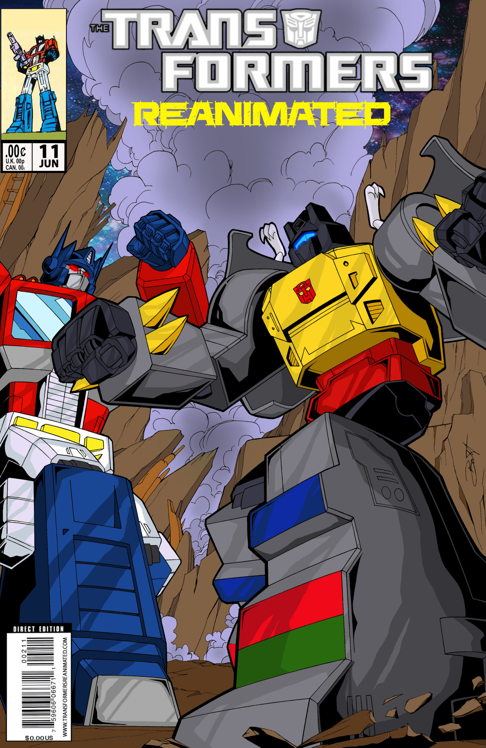 Transformers: REANIMATED Issue 11: For The Love of H.A.T.E., Part 2