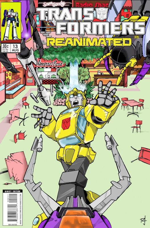 Transformers: REANIMATED Issue 13: Food Court Fury