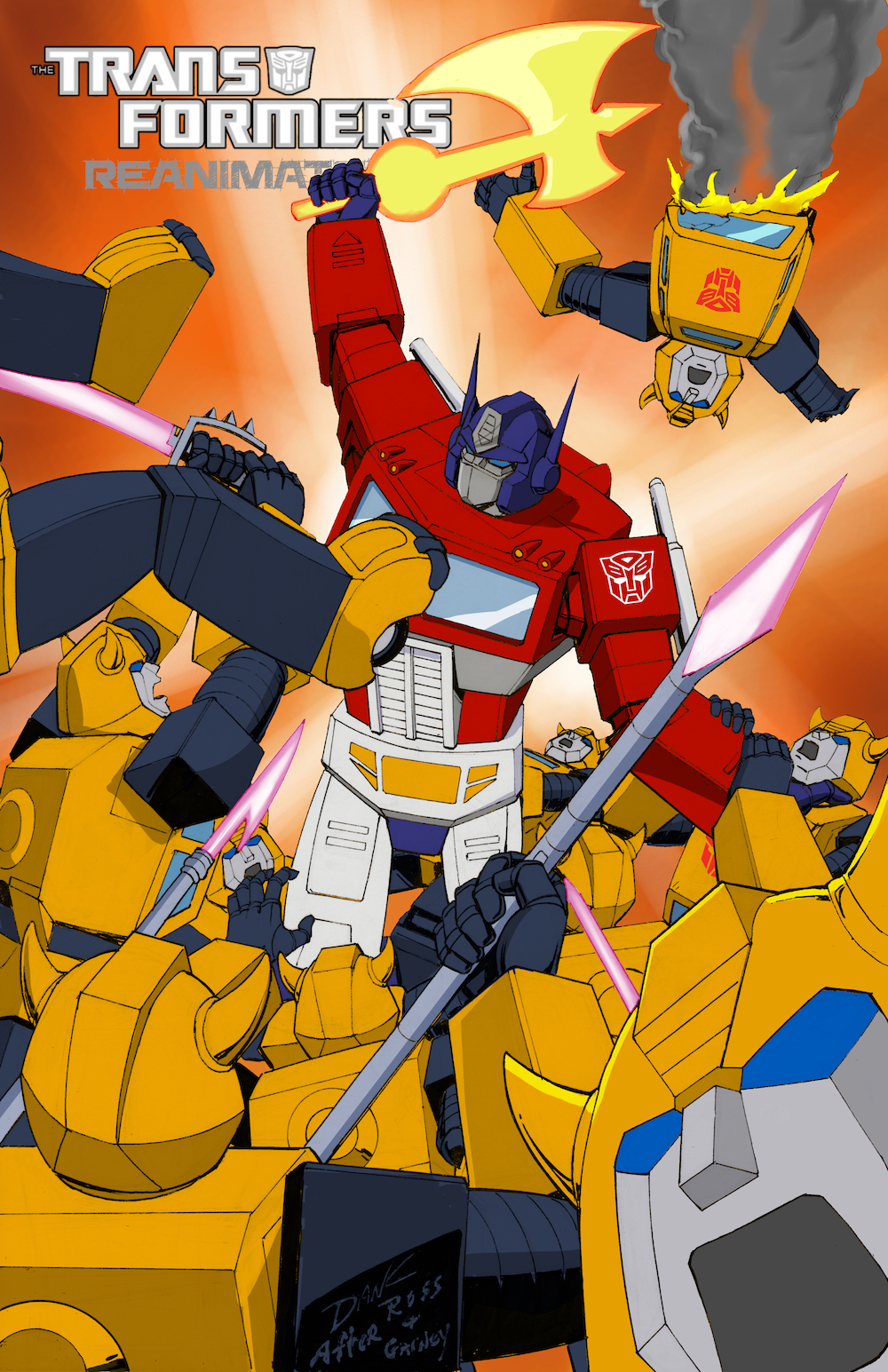 Transformers: REANIMATED Issue 14: A Swarm of Bumblebees