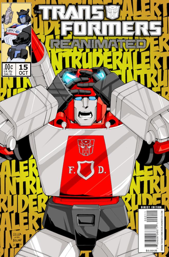 Transformers: REANIMATED Issue 15: Singarda-Paranojo
