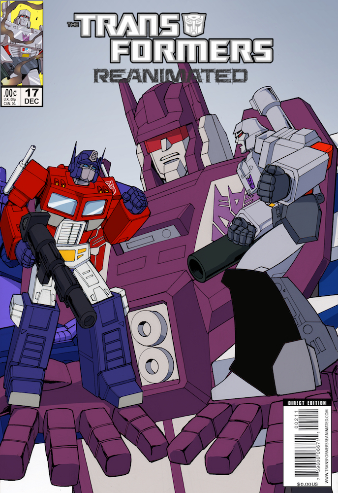 Transformers: REANIMATED Issue 17: The Terror Within, Part 2