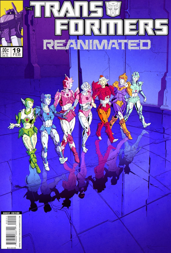 Transformers: REANIMATED Issue 19: The Arcee Activation