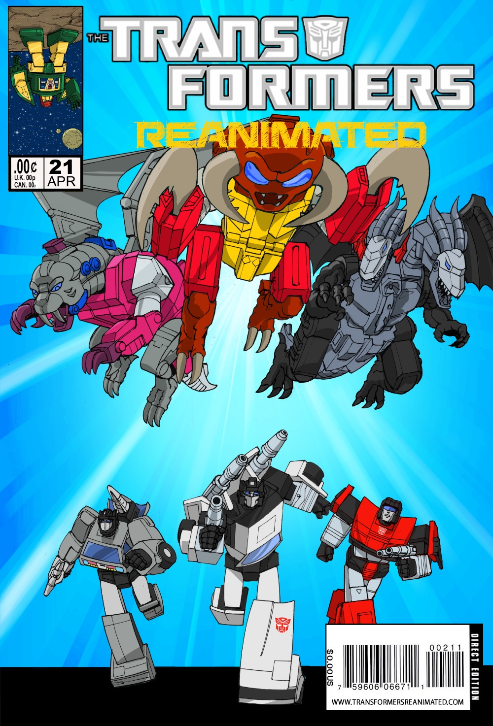 Transformers: REANIMATED Issue 21: Monsterbot Mash