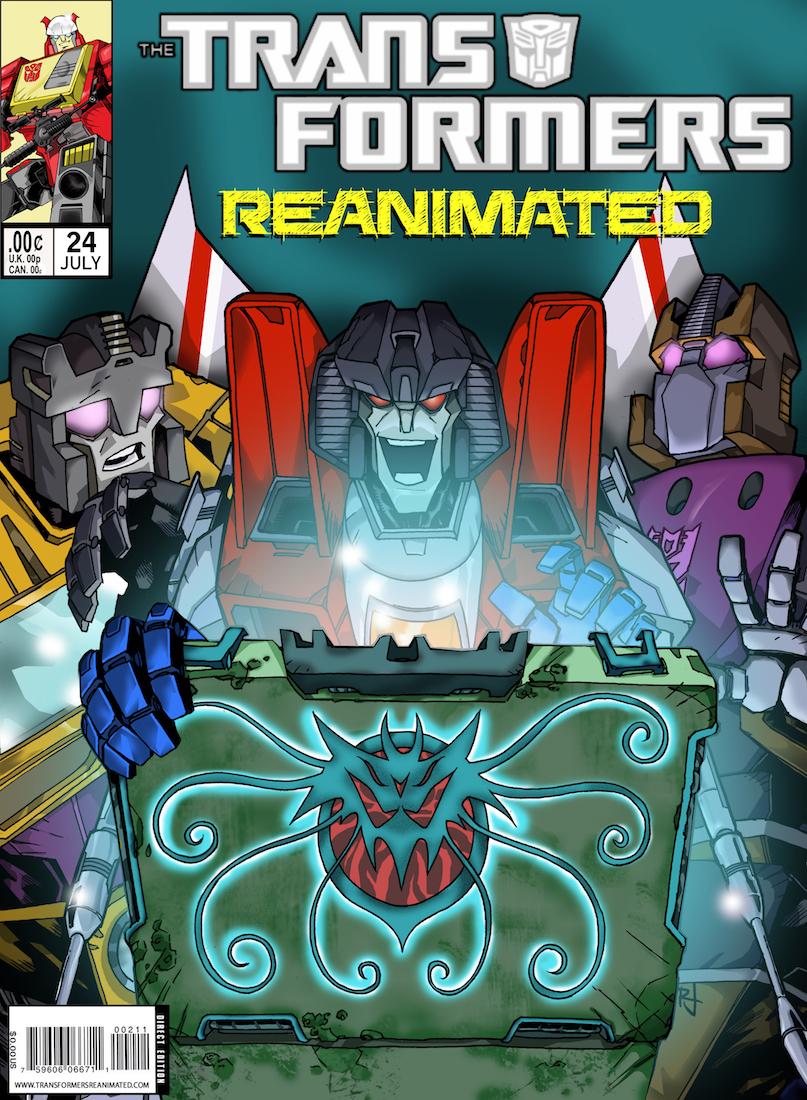 Transformers: REANIMATED Issue 24: Piranacon, Part 1.