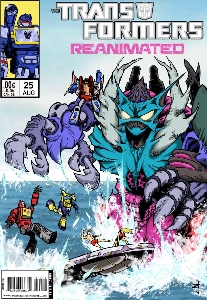 Transformers: REANIMATED Issue 25: Piranacon, Part 2.