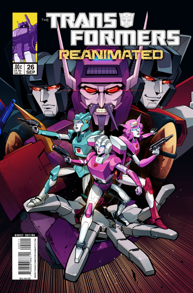 Transformers: REANIMATED Issue 26: Trannis The Terrible