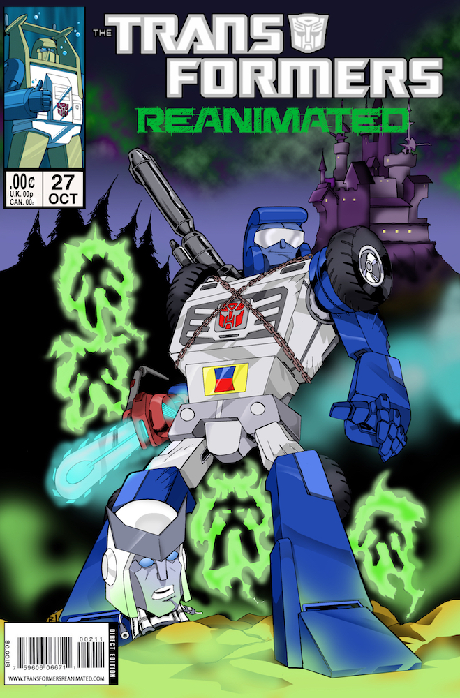 Transformers: ReAnimated Issue 27, Deactivated By Dawn